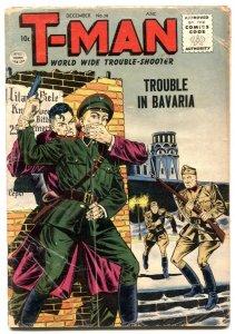 T-Man #38 1956- Hitler story- Cold War thrills VG