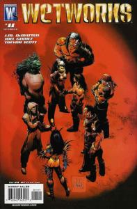 Wetworks (2nd Series) #11 VF/NM; WildStorm | save on shipping - details inside