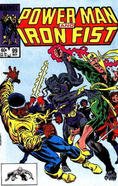 Power Man & Iron Fist #99 VF/NM Marvel - save on shipping - details inside