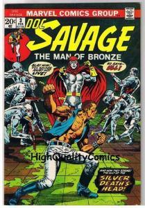 DOC SAVAGE #3, NM-, Man of Bronze, Jim Steranko, 1972, more in store