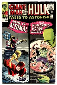 TALES TO ASTONISH #64 1965-HULK-SILVER AGE-MARVEL comic book