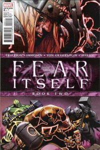 Fear Itself #2, NM (Stock photo)