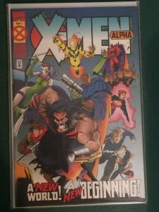 X-Men Alpha #1 Age of Apocalypse AoA