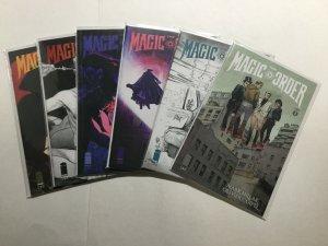Magic Order 1-6 1 2 3 4 5 6 Lot Run Set Near Mint Nm Image