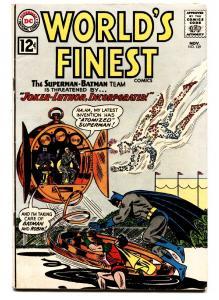 WORLD'S FINEST #129 1962-DC-BATMAN-SUPERMAN-ROBIN-JOKER-AQUAMAN-HIGH GRADE