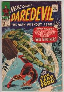 Daredevil #25 (Feb-67) VG/FN Mid-Grade Daredevil