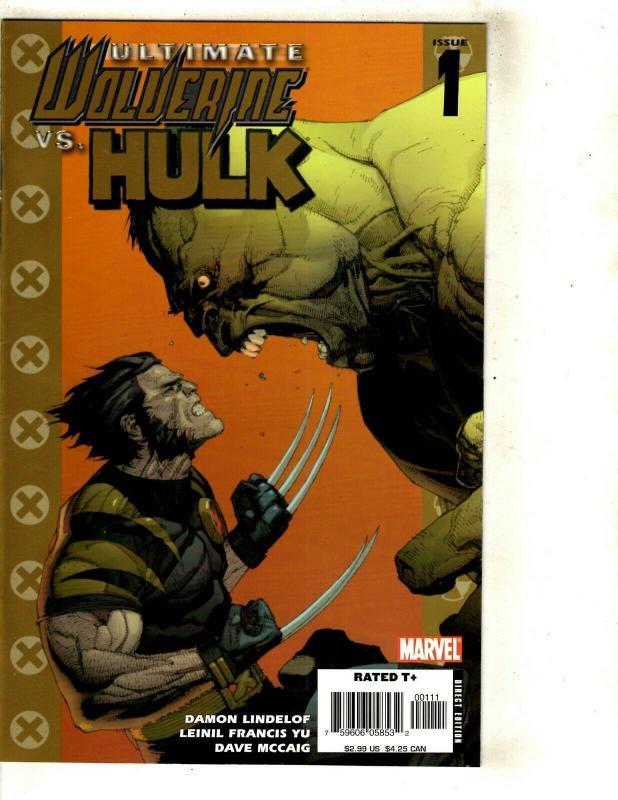 12 Ultimate Marvel Comics War 4 3 2 1 Captain America Annual 1 ++++++ SM11