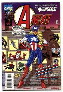 A-NEXT #4 1st appearance of the American Dream Marvel