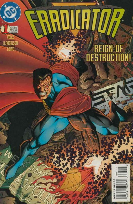 Eradicator #1 FN; DC | save on shipping - details inside