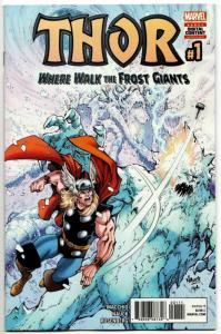 Thor Where Walk The Frost Giants #1 (Marvel, 2017) NM