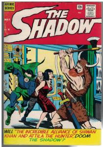 SHADOW  (1964-1965 ARCHIE) 6 VG-F May 1965