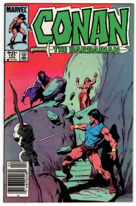Conan The Barbarian #157 (VF+) Newsstand Edition