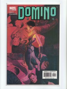 Domino 1 - 4 Complete Set Marvel Comics 2003 Comic Book Series NM