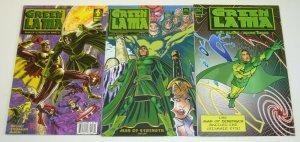 Green Lama #0 & 1-2 VF/NM complete series - bill black - ac comics - femforce