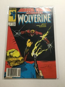 Marvel Comics Presents 9 Near Mint Nm Wolverine Newsstand Edition Marvel