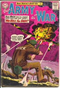 Our Army At War #130 1963-DC-Sgt. Rock-Joe Kubert-G