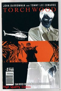 TORCHWOOD 1 SDCC Variant, NM+, Captain Jack, Dr Who, 2010, more in store