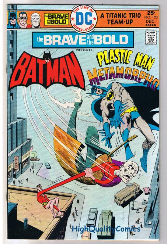 BRAVE and the BOLD #123, VF+, Batman, Plastic Man, 1955, more in store