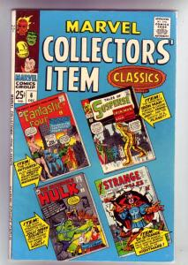 Marvel Collectors' Item #6 (Dec-66) VF/NM+ High-Grade Fantastic Four, Mr. Fan...
