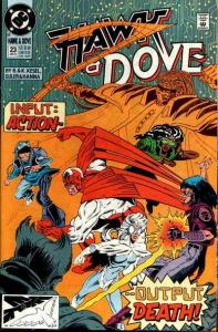 Hawk and Dove (1989 series) #23, NM- (Stock photo)