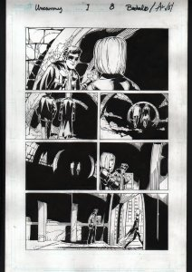 Uncanny X-Men #1 Page 8 Original Comic Book Art - Chris Bachalo