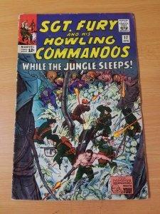 Sgt. Fury #17 ~ FINE FN ~ (1965, Marvel Comics)
