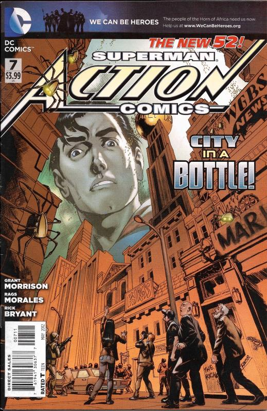 Superman Action Comics The New 52 #7
