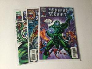 Maximum Security 1-3 1 2 3 Of 3 Lot Set Run Nm Near Mint Marvel