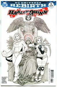 HARLEY QUINN #16, VF/NM, Rebirth, Amanda Conner, Frank Cho, 2016, more in store