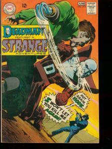 STRANGE ADVENTURES #212 1968 DC NEAL ADAMS ART  DEADMAN FN-