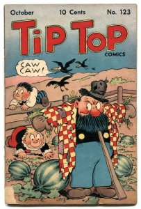 Tip Top Comics #123 1946- watermelon cover VG-