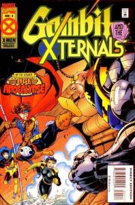 Gambit and the X-Ternals #4, NM (Stock photo)