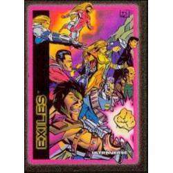1993 Skybox Ultraverse: Series 1 EXILES #82