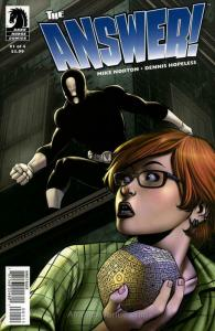 Answer!, The #1 VF/NM; Dark Horse | save on shipping - details inside