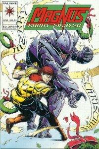 Magnus Robot Fighter (1991 series) #34, VF+ (Stock photo)
