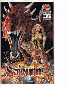 Crossgen Comics Sojourn #10 Greg Land Art Ron Marz Story