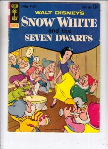 Movie Comic Snow White #1 (Sep-67) FN Mid-Grade Snow White and the Seven Dwarfs