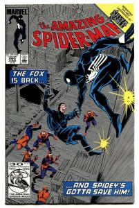 AMAZING SPIDER-MAN #265 rare second print 1985-MARVEL first silver sable!