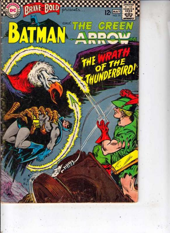 Brave and the Bold, The #71 (May-67) VG/FN Mid-Grade Batman