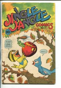 JINGLE JANGLE #17-1945-GEORGE CARLSON ART-CAPT TOOTSIE-FAMOUS FUNNIES-vg minus