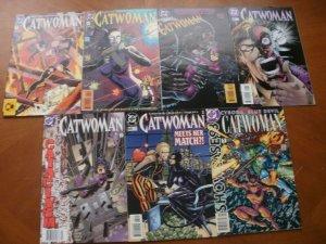 7 DC Comic: CATWOMAN #2 4 27 46 56 69 & Showcase 1993 Annual Cyborg Blue Devil