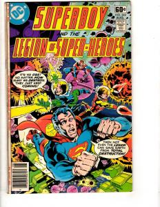 Lot Of 6 Superboy & Legion Super DC Comic Books # 242 245 246 247 248 249 JG6