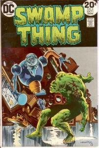SWAMP THING 6 VF-  October 1973 COMICS BOOK