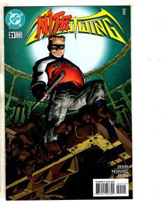 11 Nightwing DC Comic Books # 21 22 23 24 25 26 27 28 29 30 31 Flash Batman CR15