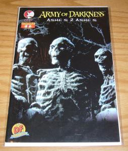 Army of Darkness: Ashes 2 Ashes #2 VF/NM DF photo variant w/COA (only 1200)