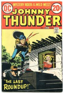 Johnny Thunder #1 1973- DC Western reprints Alex Toth FN