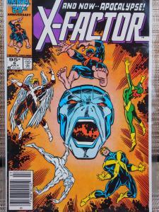 X-Factor 6 VF/NM Unread. 1st Full Apocalypse !