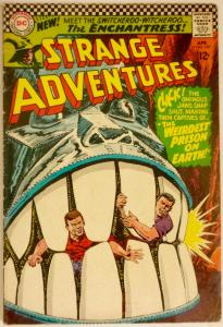 Strange Adventures #187 (DC, 1966) Origin/1st Enchantress (Suicide Squad).