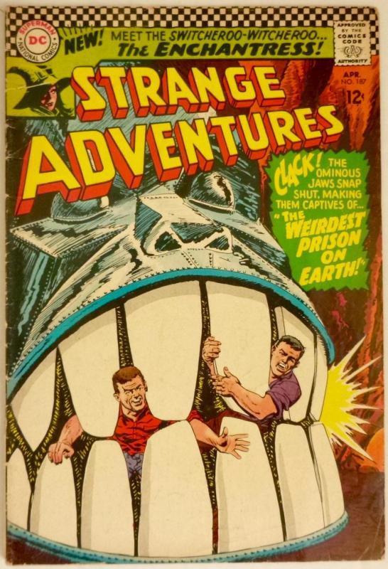 Strange Adventures #187 (DC, 1966) Origin/1st Enchantress (Suicide Squad).