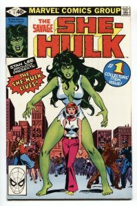 Savage She-Hulk #1 - 1st appearance 1980 Marvel comic VF+
